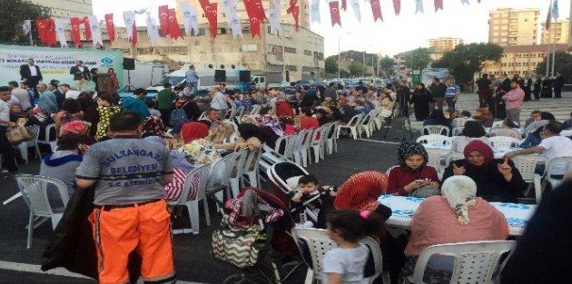 Sultangazi'de Ek Hizmet Binası Ve Meydan Açılışı Yapıldı