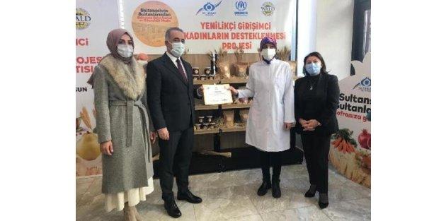 Sultangazi'de girişimci kadınlara destek