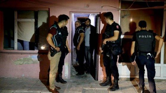 Sultangazi'de helikopter destekli uyuşturucu operasyonu