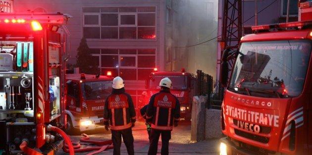 Sultangazi'de Huzurevinde Yangın