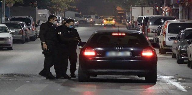 Sultangazi'de kaçan alkollü sürücüyü gece kartalları böyle durdurdu
