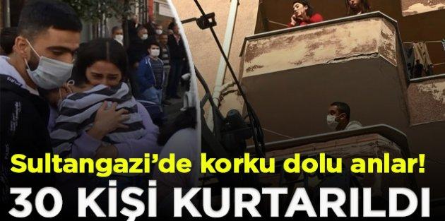 Sultangazi'de Mahalleli sokağa döküldü
