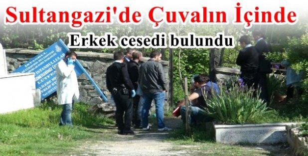 Sultangazi'de mezarlıkta erkek cesedi bulundu