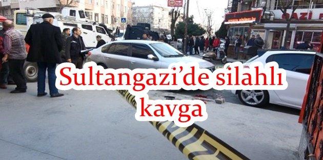 Sultangazi'de silahlı kavga: 2 yaralı