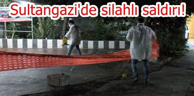 Sultangazi'de silahlı saldırı... Aracından iner inmez saldırıya uğradı