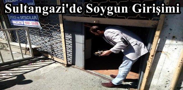 Sultangazi'de Soygun Girişimi