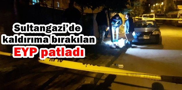 Sultangazideki Patlamada Ölen ya da Yaralanan Yok!