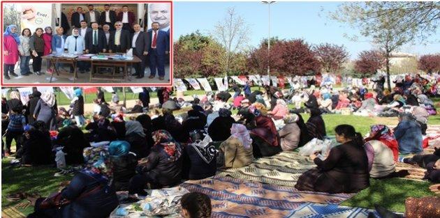 "Sultangazi'li Ak Kadınlardan"" EVET""li piknik programı"