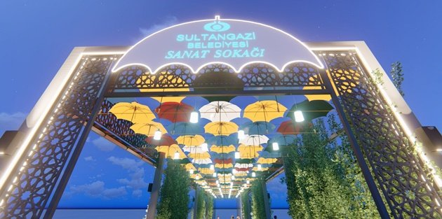 Sultangazi'ye Sanat Sokağı