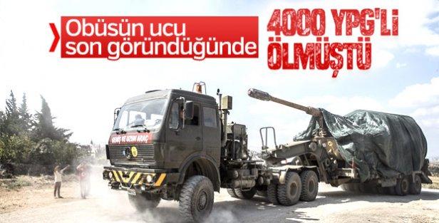Suriye sınırına tank ve fırtına obüsü sevkiyatı yapıldı