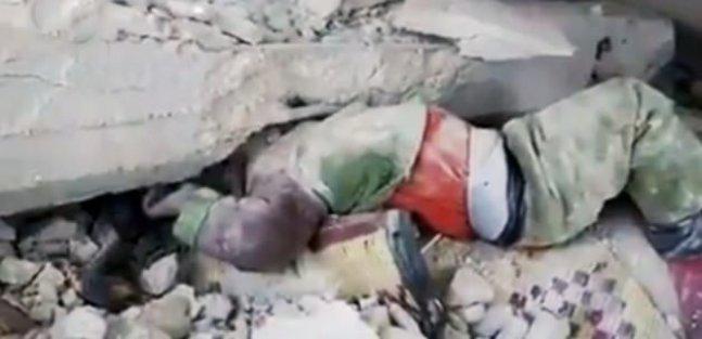 Suriyeli çocuğun mucize kurtuluşu