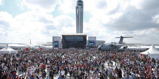 TEKNOFEST yarım milyonun üzerinde ziyaretçiyi ağırladı