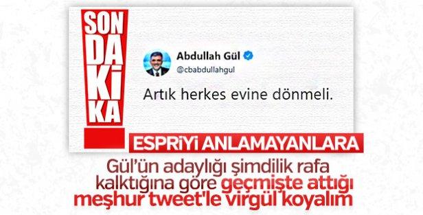Temel Karamollaoğlu, Abdullah Gül'e gitti