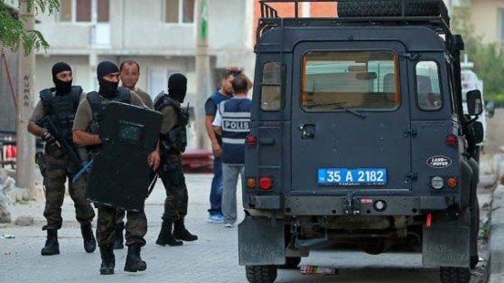 Terör operasyonlarında toplam 851 gözaltı