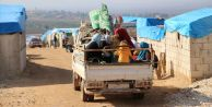124 bin sivil Suriye-Türkiye sınırındaki...
