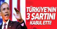 ABD Türkiye'nin o 3 şartını kabul etti!