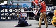 ABD'de Türk Bayrağı'nı Ermeniler'den...