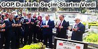 AK PARTİ GAZİOSMANPAŞA DUALARLA SEÇİM STARTINI VERDİ.