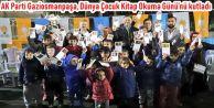 AK Parti Gaziosmanpaşa, Dünya Çocuk Kitap Okuma Günü'nü kutladı.