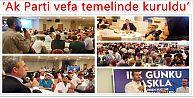 Ak Parti Gaziosmanpaşa Eski Teşkilat Mensupları İle İstişare Etti!