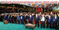AK Parti Gaziosmanpaşa, Genel Başkan Vekili Numan Kurtulmuş´la seçim startı verdi.