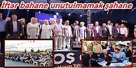 """Ak Parti Gaziosmanpaşa İlçe Teşkilatı """"AHTE VEFA"""" İftarında Buluştu"""