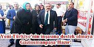 Ak Parti Gaziosmanpaşa Seçim Çalışmalarına...