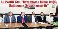 Ak Parti Gaziosmanpaşa'da seçim çalışmalarına son gaz devam ediyor