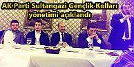 AK Parti Sultangazi Gençlik Kolları yönetimi açıklandı