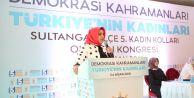 Ak Parti Sultangazi'de Nurcan Öztürkmen Güven Tazeledi.