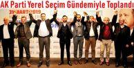 AK Parti Yerel Seçim Gündemiyle Toplandı