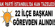 AK Parti'de, İstanbul'da 22 ilçe başkanı görevden alındı