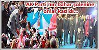 AK Parti'nin bahar şölenine onlar katıldı...