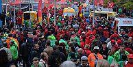 Almanya'da kaçak işçi çalıştıran 150 şirkete baskın