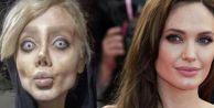 Angelina Jolie'ye benzemek için servet harcadı