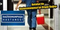 Antalya'da Gaziosmanpaşa'ya Organ Bağışı