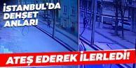 Arnavutköy'de dehşet anları! Rastgele ateş ederek böyle ilerledi...