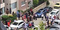 Arnavutköy'de site içinde davullu zurnalı...