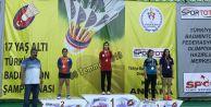 Badmintonda Türkiye Şampiyonu Gaziosmanpaşa'dan Çıktı