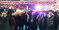 BAHAR ŞENLİĞİ HERKESİ KUCAKLADI