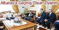 Bakan Güllüce'den Kaza Geçiren Altunay'a Geçmiş Olsun Ziyareti