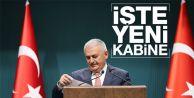 Başbakan açıkladı! İşte yeni Bakanlar Kurulu
