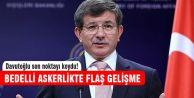 Başbakan Davutoğlu bedellide son noktayı koydu