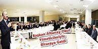Başkan Altunay Okul Yöneticileriyle Biraraya...