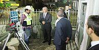 Başkan Aydın Yeni Belediye Binası İnşaatını İnceledi