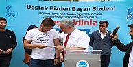 Başkan Aydın'dan Liselilere 'Bu Abinizin...