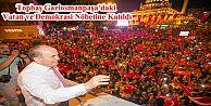 Başkan Kadir Topbaş Gaziosmanpaşa'daki Vatan ve Demokrasi Nöbetine Katıldı