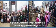 Başkan Usta, Çanakkale Savaşı'nın zor anlarını Gaziosmanpaşalılarla birlikte yaşadı