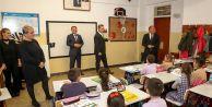 """Başkan Usta: """"İlçemizdeki Tüm Okulların Bahçesinde Bir Basketbol Potası Olacak"""""""