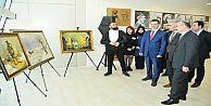 Başkan Usta resim sergisi açtı, 'Sanatı...